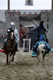 Knight on horseback royalty free stock photo