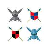 Knight icon Stock Images