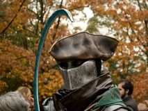 Knight at Lucca Comics and Games 2017 Stock Image