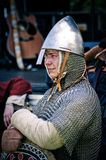 Knight on medieval festival Royalty Free Stock Photos