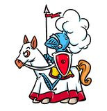 Knight medieval rider Royalty Free Stock Photography