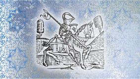 Knight of the Middle Ages Royalty Free Stock Photography