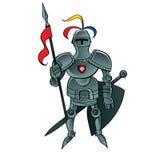 Knight o guerreiro ilustração do vetor