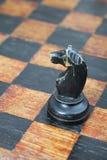 Knight Piece On Board Stock Photo