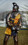 Knight Ready For Battle 31st August 2009. Hainault - August 31: Knight at Hainault forest summer family show August 31st, 2009 in Hainault Stock Photos