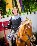 Knight at Renaissance Festival Royalty Free Stock Photo