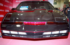 Knight Rider. MAY 21, 2015: Original KITT car of TV series Knight Rider in Istanbul Autoshow 2015 Stock Photography