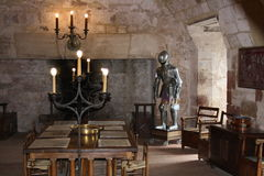 Knight room Stock Image