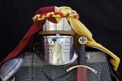 Knight's armor Royalty Free Stock Photos