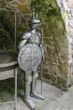 Knight's armour. Details of armor medieval knight Royalty Free Stock Photography