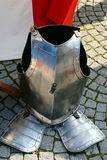 Knight's Armour Middle Part. The middle part of a knights armour seen at the medieval market in Ulm-Söflingen, South-Germany Royalty Free Stock Photography