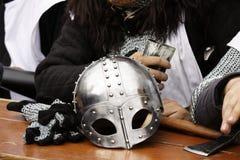 Knight's helme Stock Image