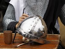 Knight's helme Stock Photography