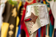 Knight's helmet Royalty Free Stock Image