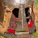 Knight's helmet Stock Photos
