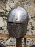 Knight's helmet. Stock Photo