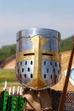 Knight's helmet Stock Image