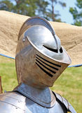 Knight's helmet Stock Photography