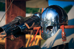 Knight's Helmet Stock Images