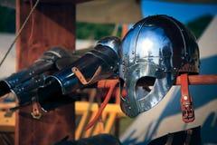 Knight's Helmet Stock Images