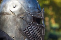 Knight& x27; s-Rüstung für historische Rekonstruktionen Stockbild