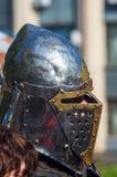 Knight& x27; s-Rüstung für historische Rekonstruktionen Stockfoto