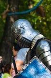 Knight& x27; s-Rüstung für historische Rekonstruktionen Lizenzfreie Stockfotos