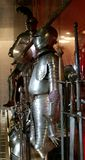 Knight's suits of armour Stock Images