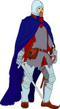 Knight with scimitar Stock Photo