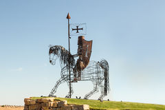 Knight Sculpture, Castro Marim, Portugal Stock Image