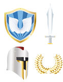Knight set Royalty Free Stock Photography