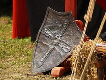 Knight shield Royalty Free Stock Images