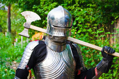 Knight in shining armor Stock Photography