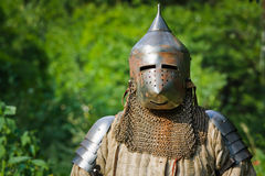 Knight in shining armor Stock Images