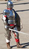 Knight with a sword Stock Photography