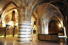 Knight Templar castle Stock Photography