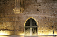 Knight templer tunnel jerusalem Stock Images