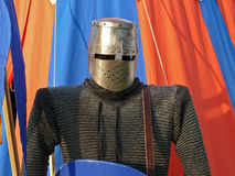 Knight tent Royalty Free Stock Image