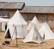 Knight tents Stock Photos