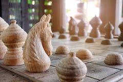 Knight of Thai chess Royalty Free Stock Photo