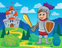 Knight theme image 1 Royalty Free Stock Photo