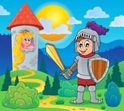 Knight theme image 2 Royalty Free Stock Photos