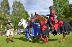 Knight toernooien Royalty-vrije Stock Afbeeldingen
