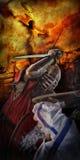 Knight toernooien stock illustratie