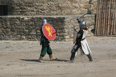 Knight tournament. Royalty Free Stock Photo