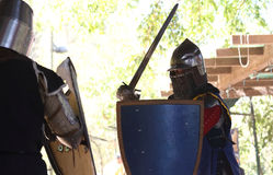 Knight tournament Stock Image