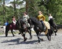 Knight tournament Royalty Free Stock Photos