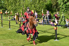 Knight tournament Stock Photo