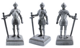 Knight toy Stock Images
