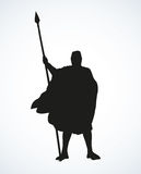 Knight. Vector drawing Stock Image